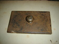 INDIA - VINTAGE IRON PAPER WEIGHTS - 3 IN 1 LOT ALL DIFFERENT