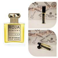 Roja Dove Vetiver Pour Homme - 17ml Extract based Eau de Parfum,Travel Fragrance