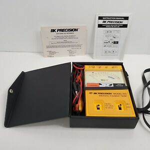 BK Precision Model 305 Electronic Insulation Tester Discontinued Model Works