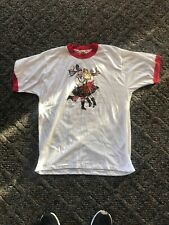 Vintage 80's Polka? Dancers Tshirt Large Screen Stars Brand Made In Usa!