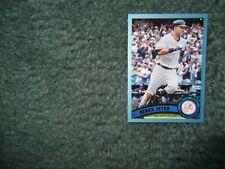 2011 TOPPS UPDATE BASEBALL DEREK JETER #US252 WALMART-BLUE BORDER, Yankees