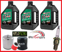 Oil Filter /& Spark Plug YAMAHA 02-08 YFM 660 Grizzly Air filter