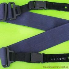 BLUE ELECTRIC GUITAR STRAP 1523A NEW QUICK RELEASE