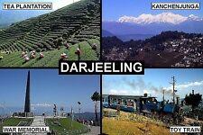 SOUVENIR FRIDGE MAGNET of DARJEELING INDIA