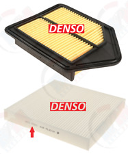 DENSO Air Filter 143-3136 & Cabin Filter 453-2026 for 2010-2011 Honda CRV CR-V