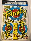 1/10 RC Autographics Race Decals Nascar The Family #657
