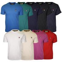 FILA Men's Striped F-Box S/S T-Shirt