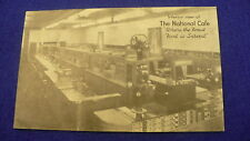National Cafe postcard lunch counter restaurant Vernon BC #1157