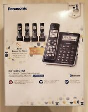 Panasonic KX-TG985 ( kx-tg985sk )  DECT 6.0 Bluetooth 5-handset Phone Bundle