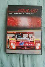 DVD FERRARI LES CHAMPIONS DES CIRCUITS NEUF SOUS BLISTER JAMAIS OUVERT/ 60MN