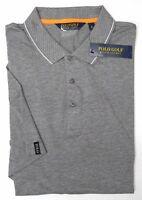 NWT $89 Polo Ralph Lauren Golf Pima SS Grey Shirt Heather Mens Size Large Gray