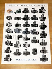 HASSELBLAD POSTER PLAKAT EVOLUTION STAMMBAUM JAPAN HISTORY OF A CAMERA PEDIGREE