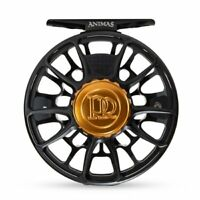 Ross Animas Fly Reel - Size 7/8 - Color Matte Black - NEW - Free Fly Line