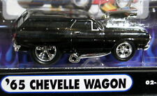 MUSCLE MACHINES 65 1965 CHEVROLET CHEVY CHEVELLE WAGON MM BOWTIE COLLECTIBLE CAR