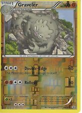 POKEMON GENERATION PACK CARD - GRAVELER 44/83 REV HOLO