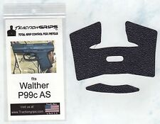 Tractiongrips brand grips for Walther P99c AS compact / rubber pistol grip set