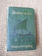 Vintage Book: Rudyard Kipling- Stalky & Co.  1899 (1st US edition)