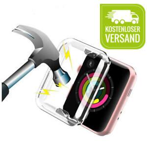 Apple Watch SE 6 5 4 3 2  Schutzhülle für Rundum-Schutz Cover Case transparent