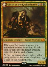 Ulrich of the Krallenhorde / Ulrich, Uncontested Alpha FOIL | NM | Eldritch Moon