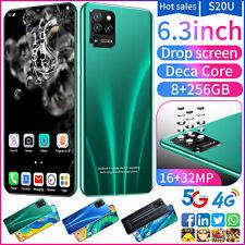 S20U Cell Phone Unlocked 8GB+256GB Dual SIM Smartphone 6.7inch Full Display