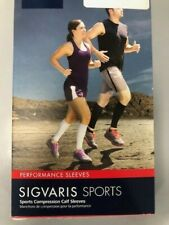 SIGVARIS Pink Unisex Performance Compression Running Sleeve 412VM56 20-30mmHg