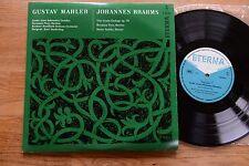 ETERNA 720157 MAHLER Prey Sanderling BRAHMS Prey Zechlin   LP