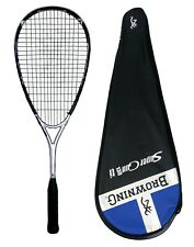 Browning Super Gun Ti 130 Squash Racket 525cm² Head size Rrp £200