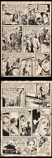 Witching Hour #34 Art Pages 6-7 by Nestor Redondo Dracula's Daughter Comic Art