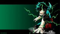 "10/""x14/""  Anime Boku no hero academia My Hero  Bakugou wall Scroll poster 2585"