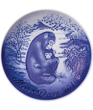Bing & Grondahl 2016 Mother's Day Plate Nib Chimpanzee with Young One New In Box