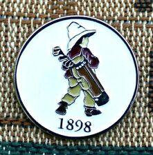 """PInehurst  #2  """"Golf Boy""""  1"""" Gold Plated Golf Ball Marker  by Golf Design USA"""