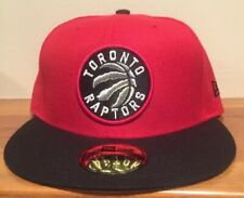 Toronto Raptors New Era 59Fifty Fitted Hat Cap Size 7 1/8