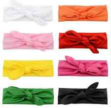 8 PC LOT Baby Toddler Girls Wrap Headband Knotted Bow Hair Band