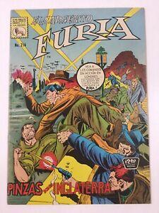 1974 SPANISH COMIC EL SARGENTO FURIA #216 SGT NICK FURY WAR LA PRENSA MEXICO