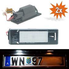 LED SMD Kennzeichenbeleuchtung Peugeot 106 1007 207 CC 308 3008 406 407 508 307