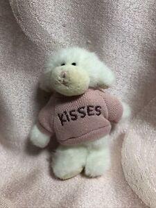 Boyds Bears Mini Message Lamb Puckerup