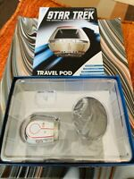 Eaglemoss Star Trek Shuttle.  Starfleet Travel Pod. Star Trek TMP.  New.  W/ Mag