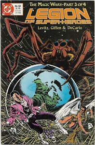 Legion of Super-Heroes (1988) #62 - VF/NM - The Magic Wars