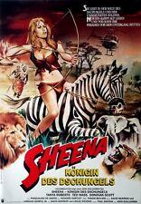 SHEENA - KÖNIGIN DES DSCHUNGELS - 1984 - Filmplakat - Tanya Roberts