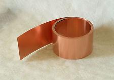 Kupferband,Kupferblech, Kupferfolie, Kupferrolle 0,1 mm x  40 mm,  5 m Rolle