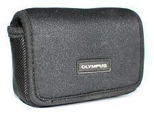 Genuine Olympus Neoprene Camera Case for Tough TG Range Belt Loop Card Pockets