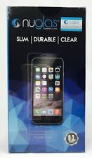 For Apple iPhone X NUGLAS 2x Tempered Glass Crystal Clear Screen Protector X