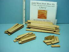 "Miniature Plank Flooring Kit 1/2"" (1:24) (36 Sq In) Cherry Wood"