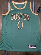Jayson Tatum Green Boston Celtics City Jersey Size Large New With Tags