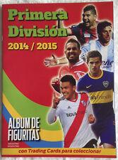 100% COMPLETE ARGENTINA CDP PRIMERA DIVISION 2014-15 STICKER SET + ALBUM