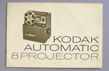 Instruction Manual for Kodak Automatic 8 Movie Projector