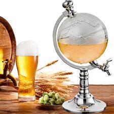 Globe Wine Decanter Dispenser Bar Beverage Drink Alcohol Liquor Beer Whiskey Usa