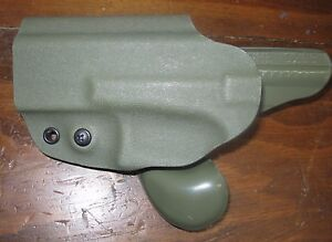 G-CODE GHE Mark VI RTI security holster fits Glock 19 23 32 36 OD green LH left