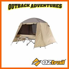 OZTRAIL ULTIMATE ALL WEATHER STRETCHER TENT QUEEN SHELTER - CAMP CAMPING BED