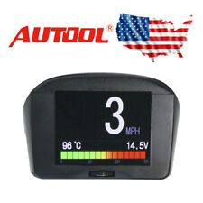Autool X50 Plus Car OBD HUD Head Up Display Smart Digital Alarm Speedometer US